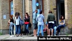 Mladi iz evropskih zemalja u posjeti Srebrenici, avgust 2016.