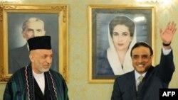 Пакстан президенты Зәрдари һәм Әфганстан президенты Карзаи (c)