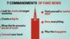 Cele șapte porunci ale dezinformării (VIDEO)