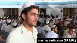د باچا خان تعلیمي مرکز کې د شمالي وزیرستان کډوال زده کوونکي