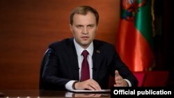 Yevgeny Shevchuk, leader of Moldova's breakaway Transdniester region, holds elections in December and Shevchuk is expected to run.