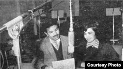 Gorgin moderates a discussion on Iranian national radio.
