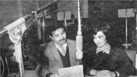Gorgin moderates a discussion on Iranian national radio.