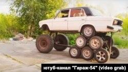 """Жигули"" с 14 колесами"