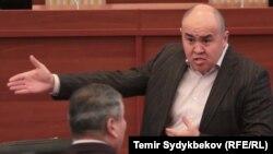 Депутат Жогорку Кенеша Алтынбек Сулайманов.
