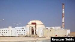 Imagine a Centralei nucleare de la Bushehr în octombrie 2017