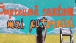 Picturi murale pentru apropierea tinerilor de pe cele două maluri ale Nistrului