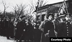 Люты 1917 году, Менск