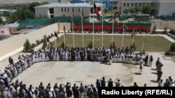 A gathering of provincial officials in Logar on June 5.