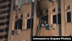 Incendiu la secția ATI Covid-19 de la Spitalul Județean Neamț.