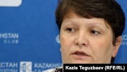 Светлана Ващенко, мать пограничника Владислава Челаха. Алматы, 27 июля 2012 года.