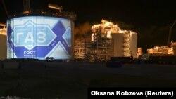 Завод по сжижению природного газа на Ямале