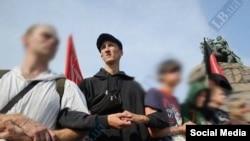 Крымский гражданский активист Александр Кольченко