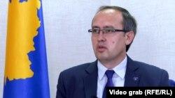 Prim-ministrul Republicii Kosovo, Avdullah Hoti