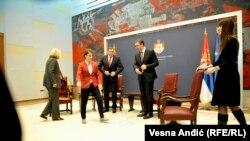 Premijerke i predsednici Srbije i Republike Srpske, 10. novembra u Beogradu