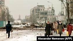 Чечня, Грозный, февраль 1996 года