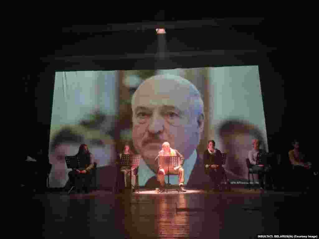 """Aleksandr Lukașenko este din 20 iulie 1994 președintele Belarusului. El este numit și """"ultimul dictator al Europei"""" pentru modul autoritar în care conduce fostul stat sovietic. În societatea bielorusă are titlul neoficial """"Tătuca"""", o trimitere directă la I.V. Stalin. (Foto: teatru Constanța)"""