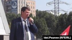 Депутат Самарской Губернской Думы Михаил Матвеев. Архивное фото