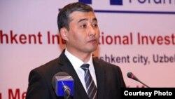 Первый заместитель министра финансов Узбекистана Ахадбек Хайдаров.