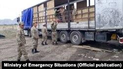 Эвакуация жителей Чон-Алайского района. 4 июня 2021 года.