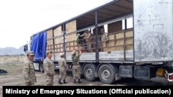 Kyrgyzstan - Evacuation of residents of Chon-Alai district. June 4, 2021