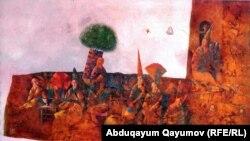 Uzbekistan -- Uzbek artist Babur Ismailov's work, 31May2012