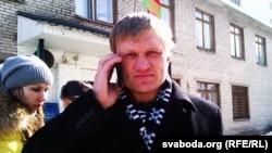 Belarusian opposition activist Syarhey Kavalenka