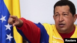 Venezuelan President Hugo Chavez pledged to develop relations with the breakaway Georgian regions of Abkhazia and South Ossetia during a meeting with the separatist leaders of the territories in Caracas.