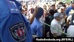 Протест проти насильства міліції у Врадіївці, липень 2013 року