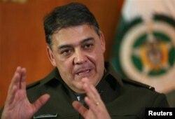 """Глава """"антинаркотической"""" полиции Колумбии генерал Рикардо Рестрепо рассказывает об успехах своего ведомства в 2013 году"""