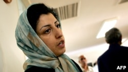Iranian human rights activist, Narges Mohammadi (file photo)