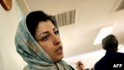 "Narges Mohammadi was awarded the 2009 International Alexander Langer Award for demonstrating ""outstanding civil, cultural, or social commitment."""