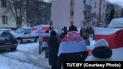 Manifestații în Minsk, 19 ianuarie 2021
