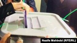 آرشیف، رأیدهی در انتخابات ولسی جرگه افغانستان. 20October2018