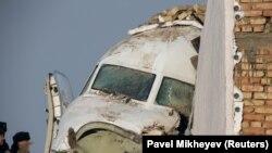 Катастрофа літака Fokker-100 в Казахстані, 27 грудня 2019 року