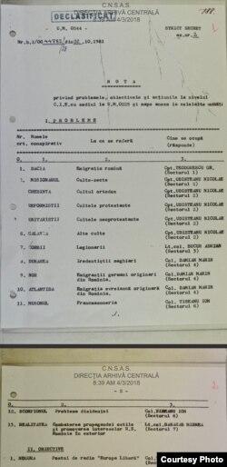 Unia din listele publicate care se referă și la Radio Europa Liberă