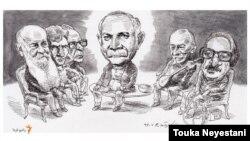 ناصر مسعودی و مهمانانش/ کاری از توکا نیستانی