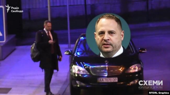 Цим літаком прилетів голова Офісу президента Андрій Єрмак