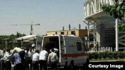 Параненыя ў нападзе на іранскі парлямэнт