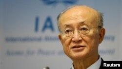 یوکیا آمانو، مدیرکل آژانس بینالمللی انرژی اتمی، گزارش خود را روز دوشنبه، ۱۳ اسفند، خطاب به اعضای شورای حکام این آژانس ایراد کرد.