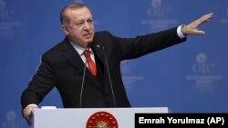Էրդողանի ելույթը «Իսլամական համագործակցության կազմակերպության» համաժողովին, 13-ը դեկտեմբերի, 2017թ.