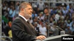 Египет президенті Мұхаммед Мурси. Каир, 15 маусым 2013 жыл.