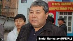Мэр города Мелис Мырзакматов в день выборов городского совета, 4 марта 2012 года.