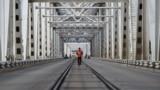 Uzbekistan's land link with Afghanistan is the Dustlik (Friendship) Bridge, built in 1982across the Amu-Darya River. A railway track runs down the middle of the bridge.