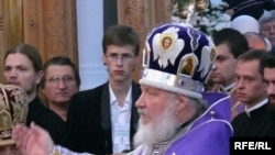 Russian Patriarch Kirill I during a recent trip to Belarus
