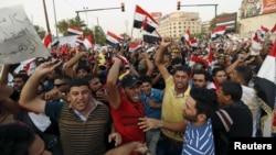 Багдад шаарындагы демонстрация. 7-август, 2015-жыл.