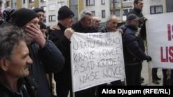 Protest poljoprivednika, Sarajevo, 14. januar 2013.