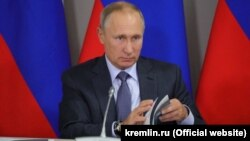 Нинішній президент Росії Володимир Путін
