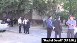 Баъди ҳамлаи мусаллаҳонаи рӯзи 4 сентябри соли 2015 дар саҳни тирандозӣ дар маҳаллаи Гардиши фурудгоҳи шаҳри Душанбе