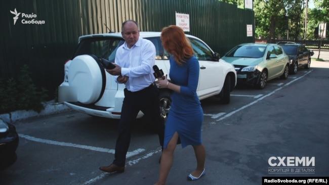 Юрій Борейчук спілкуватися з пресою не хоче